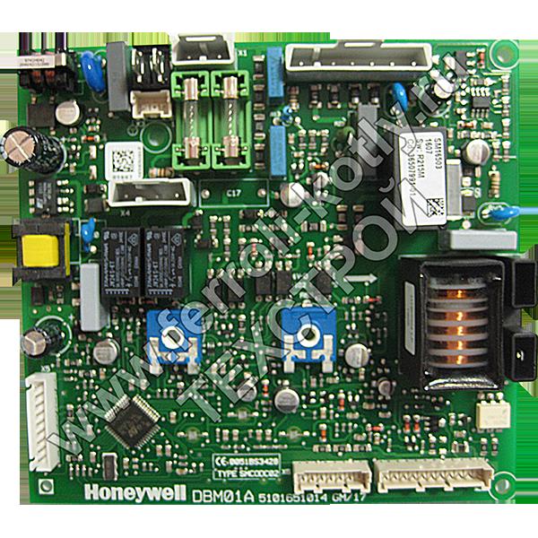 Схема платы управления honeywell dbm01